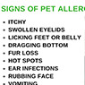 Signs of Pet